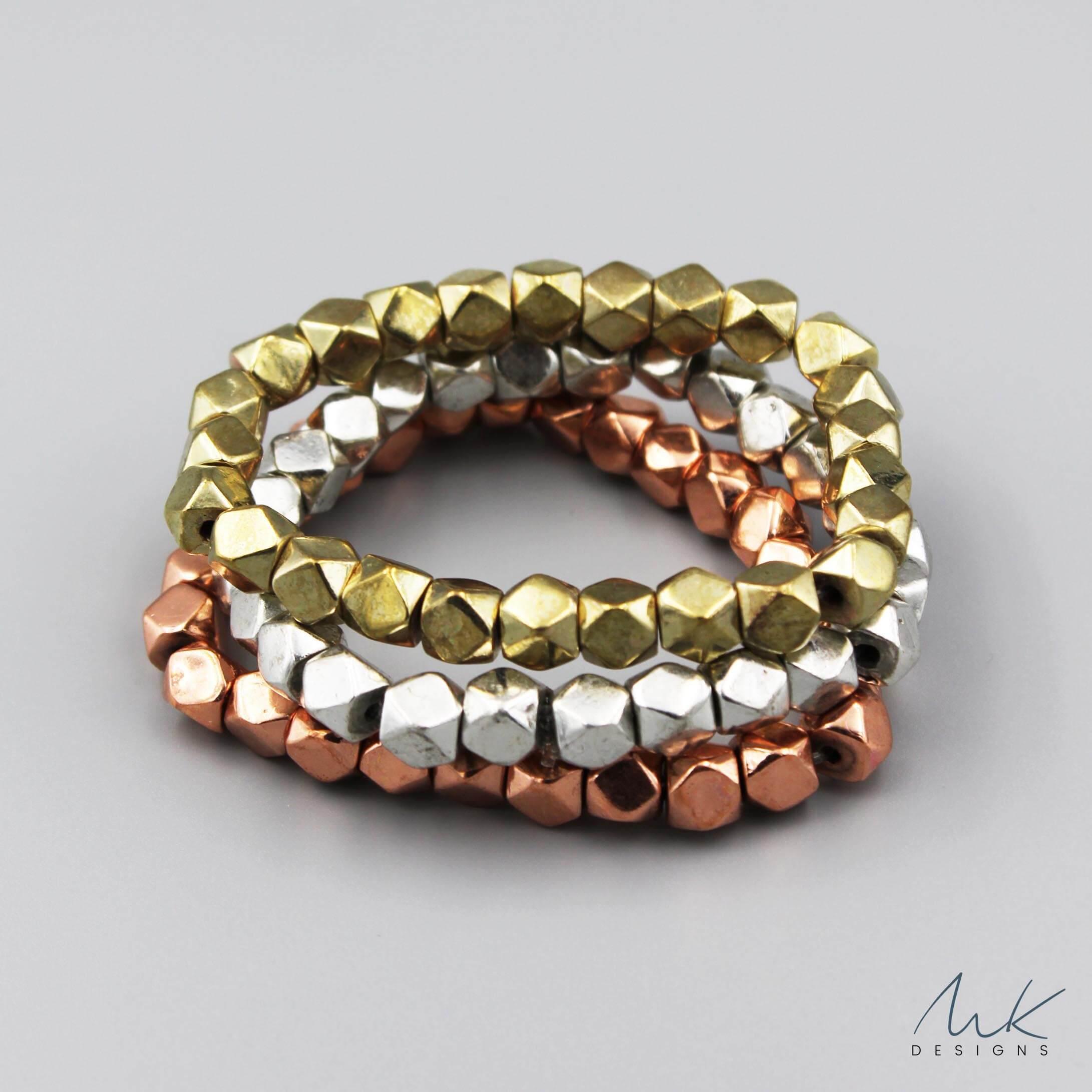 Bracelets India Beaded Stretch Bracelet