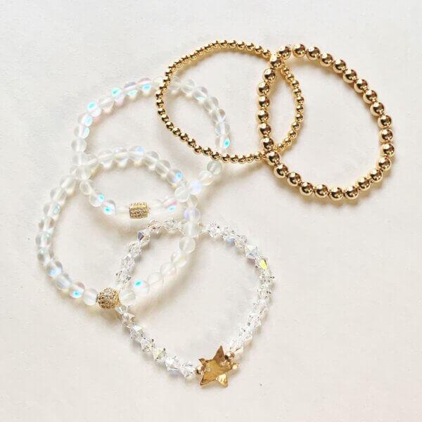 Bronze Star Crystal Jewelry by MK Design