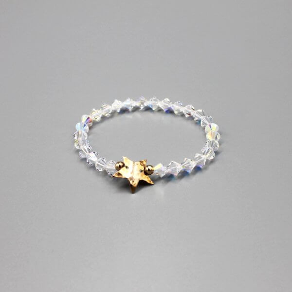 Bronze Star Swarovski Bracelet