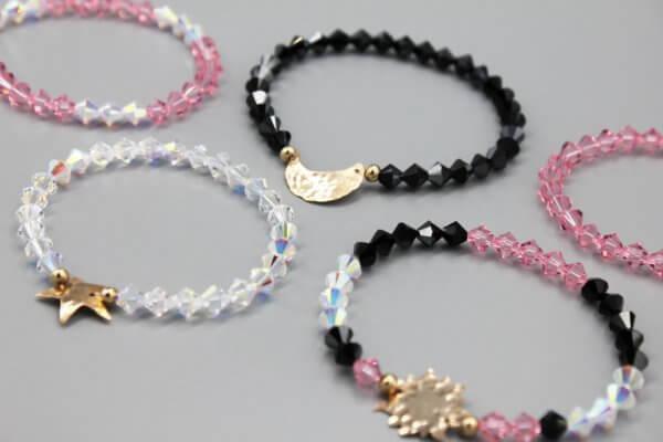 Celestial Swarovski Crystal Bracelets