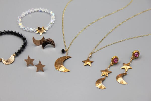 Celestial Star and Moons Collection by MK Designs