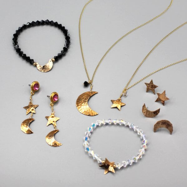 Celestial Star and Moons Collection