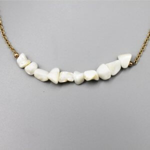 Long Chunky Pearl Necklace