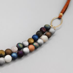 Mixed Druzy Agate Necklace