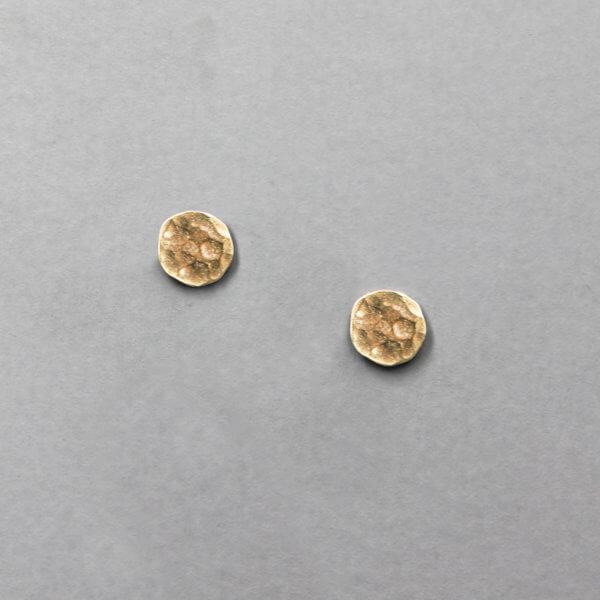 Geometric Circle Stud Earrings by MK Designs