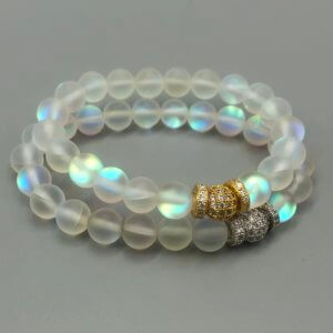 Medium Rainbow Opalite Bracelet by MK Designs
