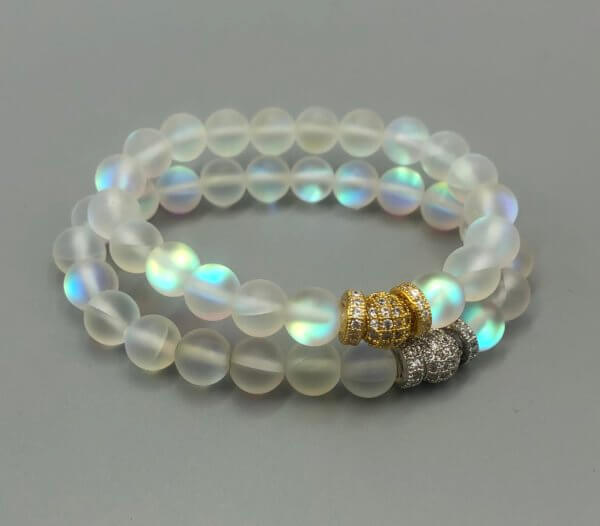 Medium Rainbow Opalite Bracelet by MK Designs