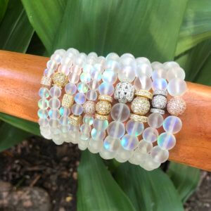 Rainbow Opalite Bracelet Set 2 by MK Designs
