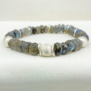 Moonlight Mist Labradorite Bracelet by MK Designs